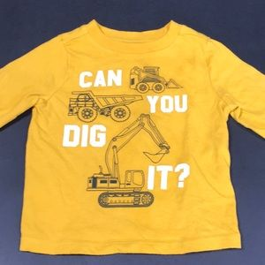 12-18 mo yellow long sleeve shirt!